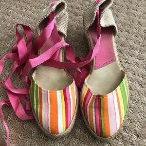 Colorful espadrille